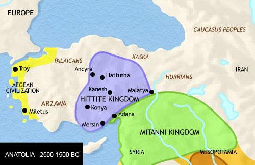 Timeline And History Of Asia Minor Anatolia