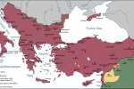 Byzantine Empire in AD 1020
