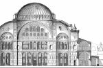 Section of restored design, Hagia Sophia, Istanbul