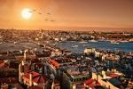 Sunset on Golden Horn, Istanbul